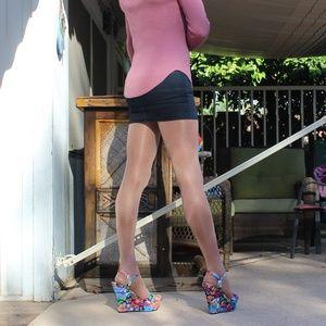 Madden Girl Platform Wedge Heels Size 11